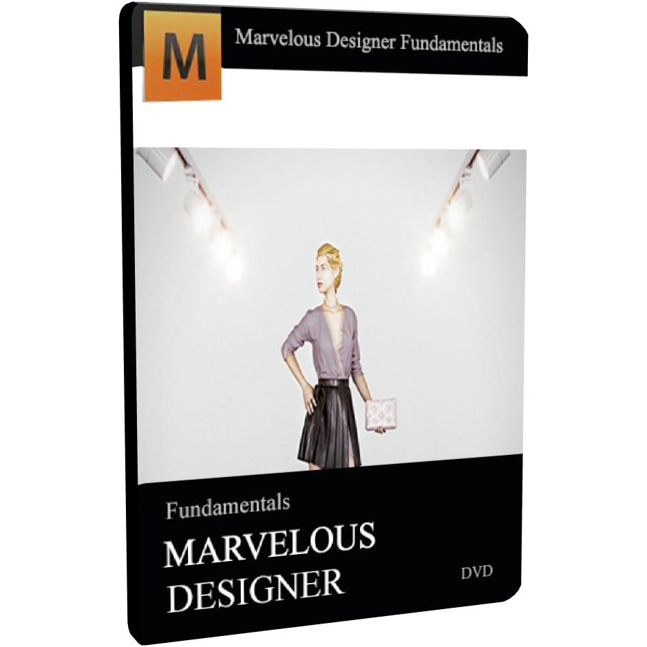 فیلم های آموزش اصول طراحي لباس در MARVELOUS DESIGNER