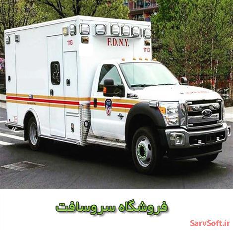 دانلود پروژه آماده فلش پروژه آمبولانس در حال حرکت