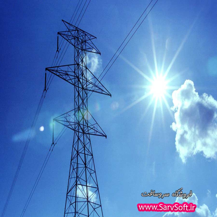 دانلود وب سایت شرکت برق با ای اس پی دات نت